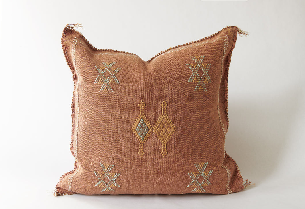 No. 31 Spicy Curry Sabra Silk Pillow