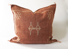 Load image into Gallery viewer, No.30  Red Thai Curry Sabra Silk Pillow