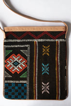 Load image into Gallery viewer, #017 Chocolate Sabra Silk Cross Body Bag