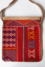 Load image into Gallery viewer, # 014 Red Sabra Silk Crossbody Bag