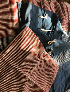 Stripes on Stripes Euro Shams