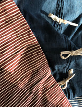 Load image into Gallery viewer, Stripes on Stripes Euro Shams