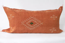Load image into Gallery viewer, No.49 Sabra Silk Lumbar Pillow