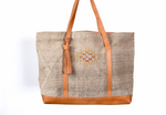 Load image into Gallery viewer, Tan Sabra City or Beach Tote