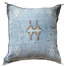 Load image into Gallery viewer, No. 39 Sky Blue Sabra Silk Pillow