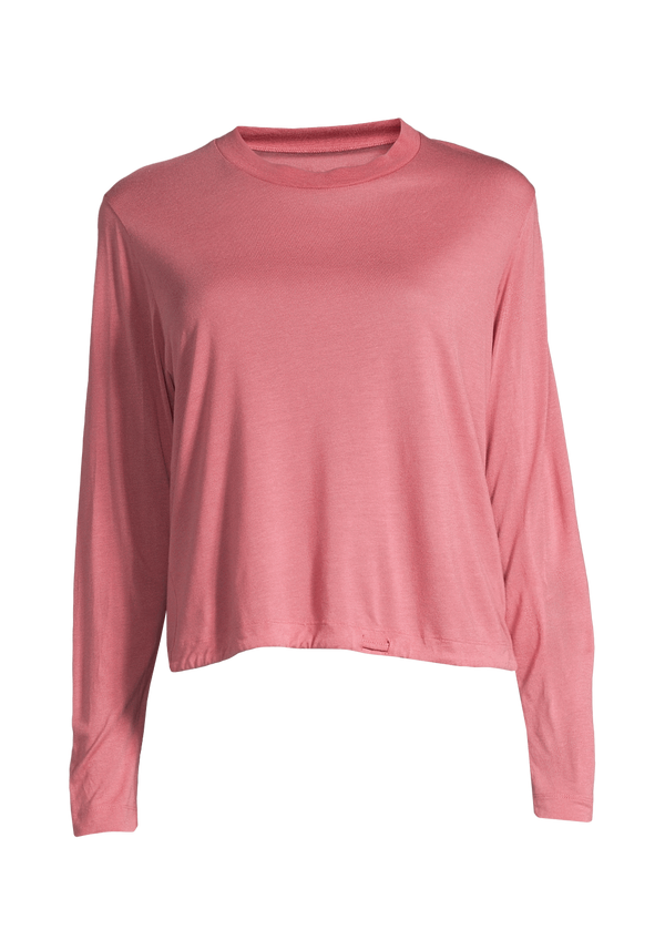 CASALL SP TOP CASALL - EASE CREW NECK - ROSE