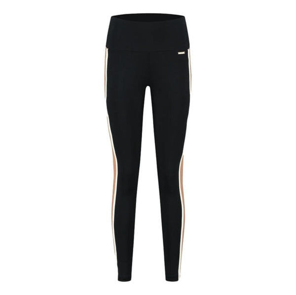 DEBLON SP TIGHT Deblon Sports - Kate Leggings | Black Camel Offwhite
