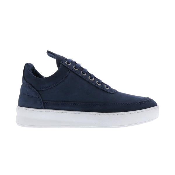 FILLING PIECES M SNEAKER LOW TOP PLAIN LANE NUBUCK BLUE