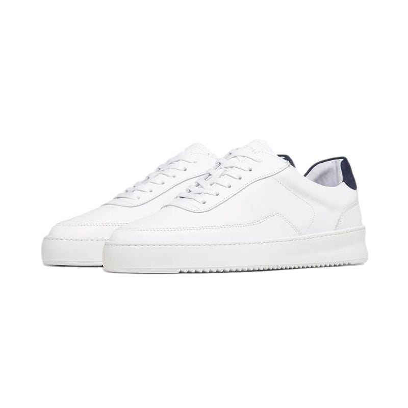 FILLING PIECES M SNEAKER MONDO 2.0 RIPPLE BIANCO NAVY BLUE