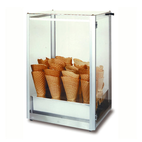 Waffle Cone Display Case