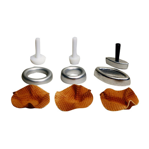 Ice Cream Waffle Cone Boat Dish Forming Kit