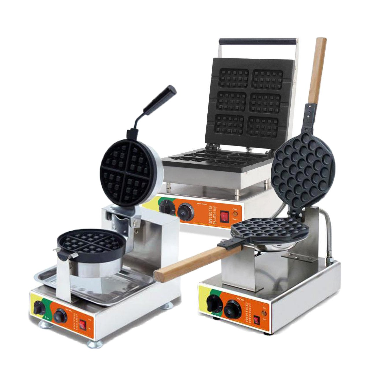 Waffle Machines Deal - 3 units for £995.00 inc. VAT & Delivery