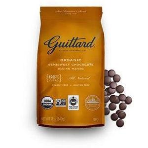 Guittard Semi Sweet Chocolate Baking Wafers
