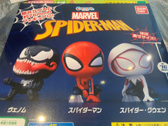 Spider Man Big Head Sitting Figure 3 Pieces Set (In Stock)