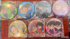 Dectective Conan Character Badge Pin 6 Pieces Set (In-stock)