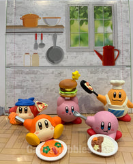 Kirby Cooking Time Figure 5 Pieces Set (In-stock)