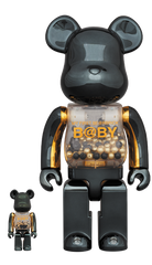 MY FIRST BE@RBRICK INNERSECT BLACK & GOLD Ver.100% & 400% Limited (Pre-Order)