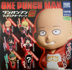 One Punch Man Figure Keychain 6 Pieces Set (In-stock)