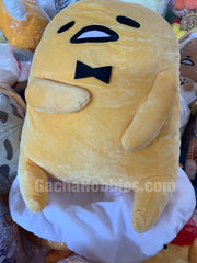Super Super BIG Gudetama Gentleman Sitting Plush (In-stock)