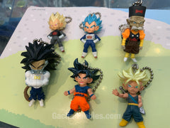 Dragon Ball UDM Burst 37 Figure Keychain 6 Pieces Set (In-stock)