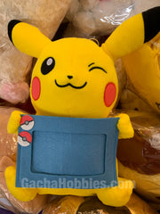 Pokemon Plush Photo Frame Pikachu Blue Ver. (In-Stock)