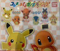 Colle Chara Pokemon Mini Figure Vol.2 6 Pieces Set (In-stock)