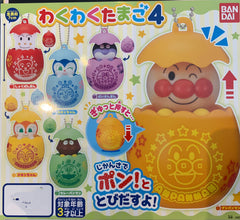 Anpanman Characters In Eggshell 6 Piece Set (In Stock)