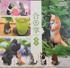 Animal Gassho Figure Vol.4 5 Piece Set (In-stock)