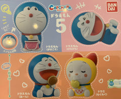 Capchara Doraemon Big Head Figure Vol.5 4 Pieces (Pre-order)