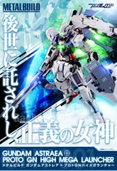 Metal Build GNY-001 Gundam Astraea + Proto GN High Mega Launcher Limited (Pre-Order)