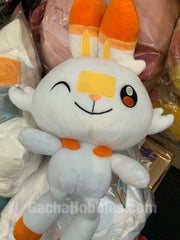 Pokemon Sword and Shield Scorbunny Wink Medium Plush (In-stock)