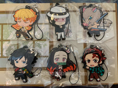 Kimetsu no Yaiba Demon Slayer Rubber Keychain (In-stock)
