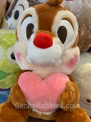 Disney Chip 'n' Dale Furry Dale Hugs Heart Plush (In-stock)