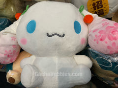 Cherry Blossom Cinnamoroll Smiling Plush (In-Stock)