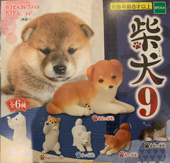 Shiba Inu Mini Figure Vol.9 6 Pieces Set (In-stock)