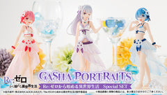 Gasha Portraits Re:Zero Starting Life in Another World Special Set Limited (Pre-order)