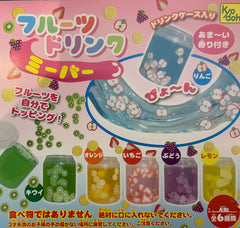 Fruit Slice Slime 6 Pieces Set (In-stock)