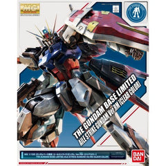 MG 1/100 The Gundam Base Limited Aile Strike Gundam Ver.RM Clear Color Plastic Model Limited (Pre-order)