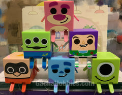 Gashapon Disney Pixar Gacha Cube Characters Set (In Stock)