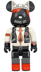 BE@RBRICK ANNA SUI RED & BEIGE 400% (Pre-order)