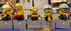 Minion Construction Worker Mini Figure 5 Pieces Set (In-stock)