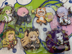 Fate Grand Order Absolute Demonic Front  Babylonia Rubber Keychain Vol.2 7 Pieces Set (In-Stock)