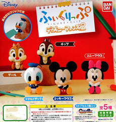 Disney Characters Cheek Supporting Mini Figures 5 Pieces Set (In-stock)