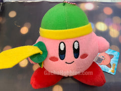 Kirby Adventure Zelda Link Sword Kirby Plush Keychain (In-stock)
