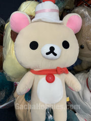 Rilakkuma Plush Cake Hat Ver. White bear (in-Stock)