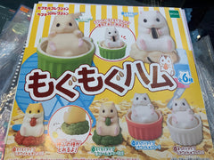 Hamster Supining Figure 6 Pieces Set ( In-stock)