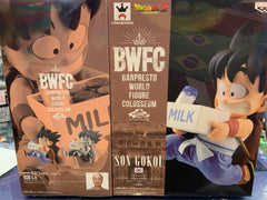 BWCF Dragon Ball Son Gokou Milk Prize Figure (In-stock)