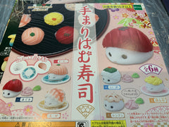 Sushi Hamster Collection Figure 6 Pieces Set (In-stock)
