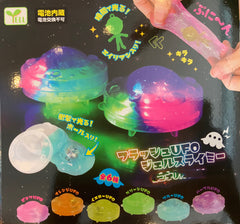 LED Alien UFO Squishy 6 Pieces Set (In-stock)
