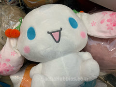 Cherry Blossom Cinnamoroll Open Mouth Plush (In-Stock)